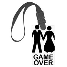 GAME OVER Luggage Tag