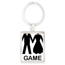 GAME OVER Portrait Keychain
