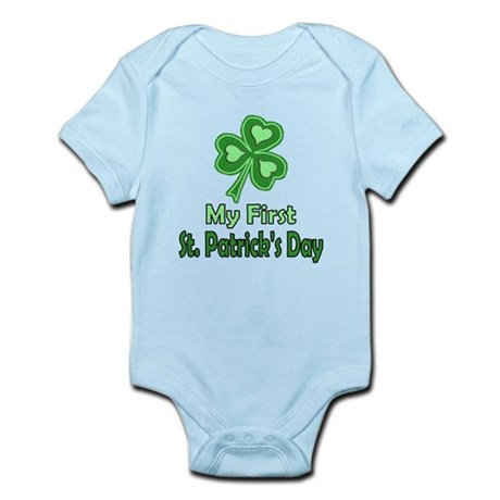 Girl St Patrick's Day Infant Bodysuit