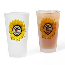 Merc One Logo 2 Drinking Glass