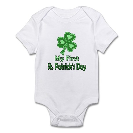 Baby's First St. Paddy's Day Onsie