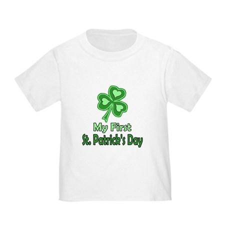 Baby's First St. Patricks Day Toddler tee