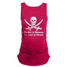 To Err Is Human Maternity Tank Top