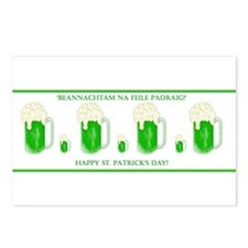 St. Patrick's Day Toast Postcards (Package of 8)