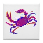 Cancer Crab Art Tile Coaster