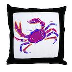 Cancer Crab Art Throw Pillow