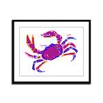 Cancer Crab Art Framed Panel Print