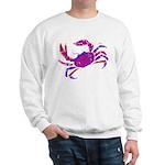 Cancer Crab Art Sweatshirt