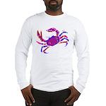 Cancer Crab Art Long Sleeve T-Shirt
