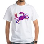 Cancer Crab Art White T-Shirt