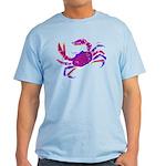 Cancer Crab Art Light T-Shirt