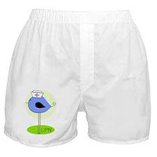 LPN bird blue Boxer Shorts