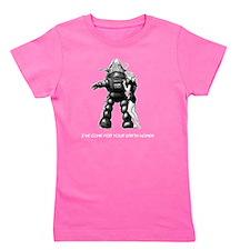 Robot Girl's Tee