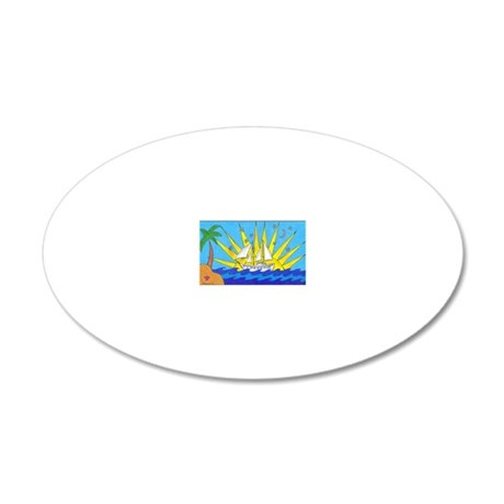 Diamant_Shannon 20x12 Oval Wall Decal