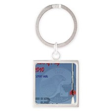 Birds of Prey 2010 Square Keychain