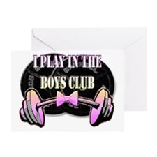Boys club png Greeting Card