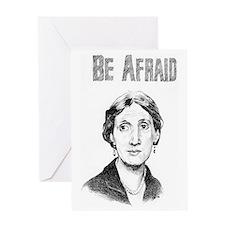 Whos Afraid? Greeting Card