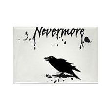 Nevermore Rectangle Magnet
