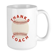 Baseball Thanks Coach Mug