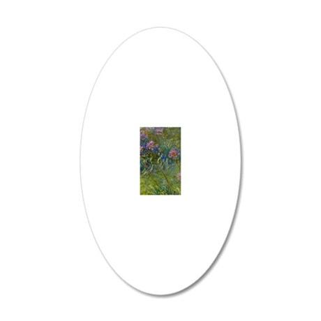443_3 20x12 Oval Wall Decal