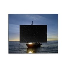 Sunset Sailboat Picture Frame