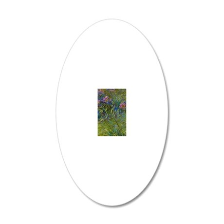 441_3 20x12 Oval Wall Decal