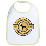 Terrier Walker Bib