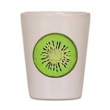 Kiwi Slice Shot Glass