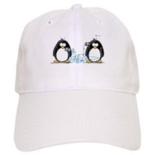 Communication - Penguin Humor Baseball Cap