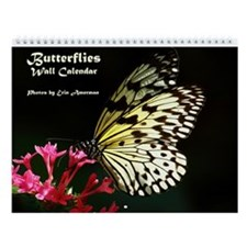 Butterflies Wall Calendar - New!