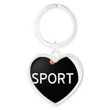 Bimmer Sport Mode Button Heart Keychain