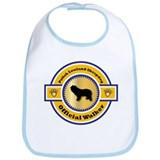 Sheepdog Walker Bib
