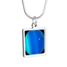tileuranus Silver Square Necklace
