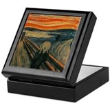 Munch The Scream Keepsake Box