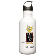 cat_scan_todds Sports Water Bottle