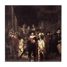 Rembrandt The Nightwatch  Tile Coaster