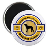 "Deerhound Walker 2.25"" Magnet (100 pack)"