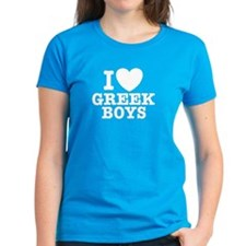 I Love Greek Boys Tee