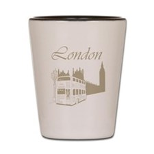 Retro London Shot Glass