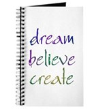 Dream Believe Create Journal