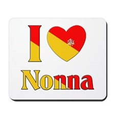 I Love Nonna Mousepad