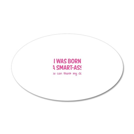 baby447 20x12 Oval Wall Decal