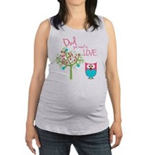 Owl You Need is Love Maternity Tank Top