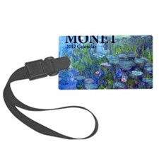 Monet Luggage Tag