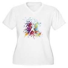 color splash wome T-Shirt