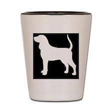 btcoonhoundpatch Shot Glass