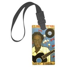 Robert Johnson Hell Hound On My  Luggage Tag
