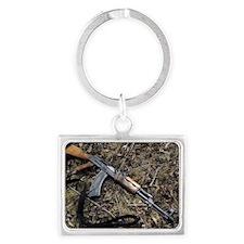 AK 47 Landscape Keychain
