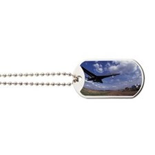USAF B1 Bomber on final approach Dog Tags