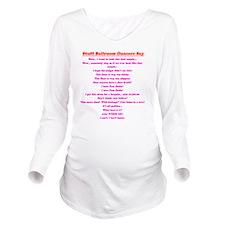 Stuff Ballroom Dance Long Sleeve Maternity T-Shirt
